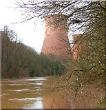 SJ6603 : Buildwas power station, Shropshire by Andy F