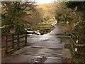 SX6862 : Cattle grid and ford, Shipley Bridge by Derek Harper