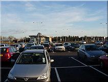 TL4662 : Milton Park and Ride by Hugh Venables