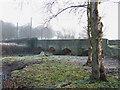 SJ8909 : Somerford Bridge over the River Penk, Staffordshire by Roger  Kidd