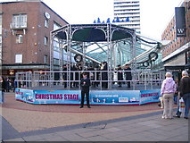 SP3379 : Christmas bandstand by E Gammie