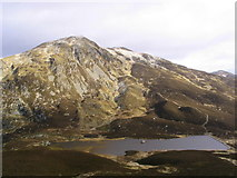 NN9462 : Loch a' Choire below Ben Vrackie by Russel Wills