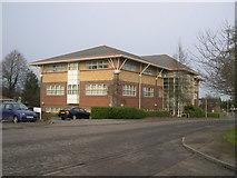 TL8364 : Insurance company office, Dettingen Way, Bury St. Edmunds by John Goldsmith