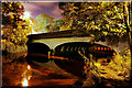 SE1720 : Cooper bridge/Calder and Hebble navigation by philld