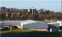 SX9065 : Eagle Court, Old Woods Trading Estate by Derek Harper