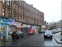 NS5565 : Langlands Road shops by Stephen Sweeney