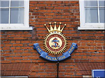 TM3863 : Salvation Army Plaque by Adrian Cable