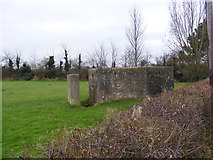 TM3763 : Pillbox in Rendham Road by Adrian Cable