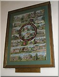 SU8014 : The Millennium Tapestry within St Peter, East Marden by Basher Eyre