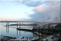 SU4208 : Hythe Marina, Pier and Southampton Water by John Webb