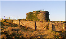 TQ9418 : The Enchantress Tower, Martello Tower 28, Rye Harbour by Kevin Gordon