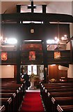 TQ0682 : St Laurence, Cowley - West end by John Salmon