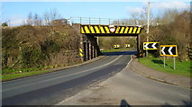 SO6913 : Railway bridge near Broadoak by David Robinson