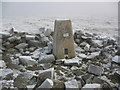 NY6834 : Cross Fell triangulation pillar by Phil Catterall