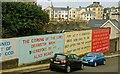 C8540 : Billboards, Portrush by Albert Bridge