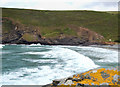 SX1497 : Crackington Haven, beach and rocks by Andy F