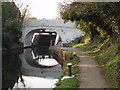 TQ1379 : Grand Union Canal bridge 204  - Glade Lane by David Hawgood