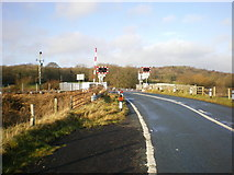 SD4774 : Silverdale Level Crossing by Alexander P Kapp