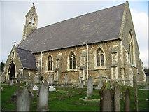 TR3748 : Kingsdown church, Church Cliff by Nick Smith