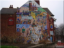 SK3536 : The Old Silk Mill, Full Street, Derby by James Haynes