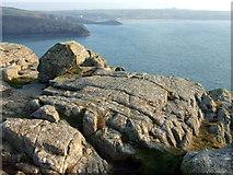 SM7227 : View southeast from St David's Head by ceridwen