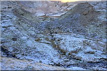 NY3416 : Ruined Dam, Keppel Cove by Mick Garratt