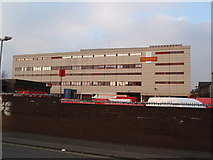 SK3635 : Derby Delivery Office, Midland Road, Derby by James Haynes