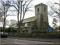 SD7336 : St Mary's and All Saints Church, Whalley by Alexander P Kapp