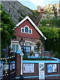TQ8209 : East Hill Lift, Old Town Hastings by Denise Treglown