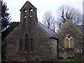 SM9628 : St Dogwells church, west end by ceridwen