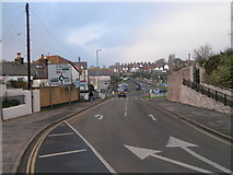 SX9473 : Road junction in Teignmouth near the railway station by Rob Purvis