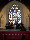 SU0460 : Stained glass window, St Andrew's Church by Maigheach-gheal