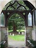 SU0460 : Porch, St Andrew's Church by Maigheach-gheal