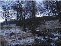 NH1101 : Bridge over Allt a' Ghobhainn in Glen Garry by Sarah McGuire