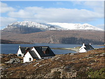 NH1098 : Ardmair Bay and Ben More Coigach  in winter by Ike Gibson