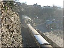 SH4862 : The Welsh Highland Railway Station at Caernarfon by Eric Jones