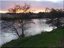 SK4731 : River Trent at Sawley by Andy Jamieson