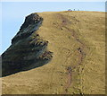 SO0221 : The west side of Cribyn 2 by Jonathan Billinger