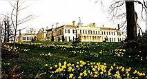 TQ1352 : Polesden Lacey - South Front by Sarah Smith