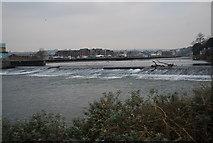 SX9291 : Trews Weir by N Chadwick