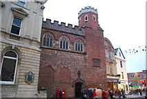 SX9192 : Church on the High St, Exeter by N Chadwick