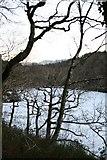 SH6441 : Hafod y Llyn - frozen over! by Barry Hunter