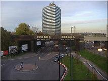 TQ1983 : Wembley Point, Stonebridge park by David Howard