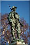 SP0343 : Evesham War Memorial by Philip Halling