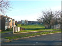 SE1321 : View from Arncliffe Crescent, Field Lane Estate, Rastrick by Humphrey Bolton