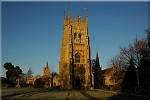 SP0343 : The tower of Evesham Abbey by Philip Halling