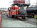 SH5738 : Locomotive taking in water by Bob Abell