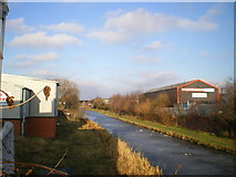 SO9394 : The Birmingham Main Line canal, frozen by Richard Law