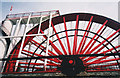 SC4385 : Laxey Wheel close up by Trevor Rickard