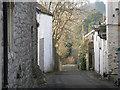 SS9668 : Burial Lane, Llantwit Major by Mick Lobb